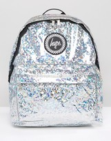 Hype Holographic Galvanised Backpack