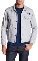 Levi's NFL Grey Twill Trucker Jacket