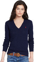 Polo Ralph Lauren Cable V-Neck Sweater