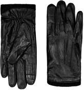 Topman Men's Leather Gloves