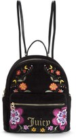 Juicy Couture Outlet - FOLKLORE FLORAL VELOUR BACKPACK