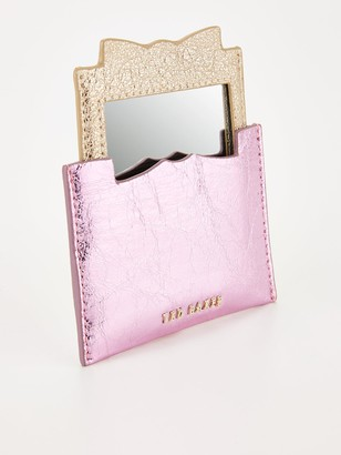 Ted Baker Slotted Bow Credit Card Holder - Pink