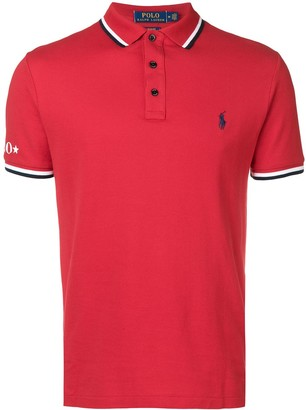 Polo Ralph Lauren red polo top
