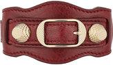 Balenciaga Women's Arena Giant Bracelet-BURGUNDY