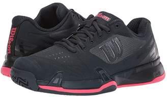 Wilson Rush Pro 2.5 2019 (Blueberry/Black/Paradise Pink) Women's Tennis Shoes