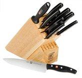 Zwilling J.A. Henckels TWIN Signature Knife Block Set - 11 pc - Black/Natural