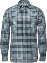 Burberry Alexander Checked Cotton Shirt