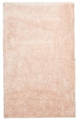 Pottery Barn Teen Performance Shimmer Shag Rug, 5'x8', Powdered Blush