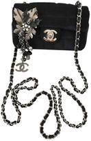 Chanel Timeless silk crossbody bag