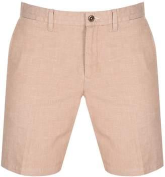 Gant Chambray Shorts Brown