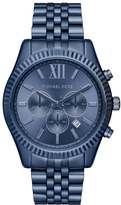 Michael Kors LEXINGTON Chronograph watch blue