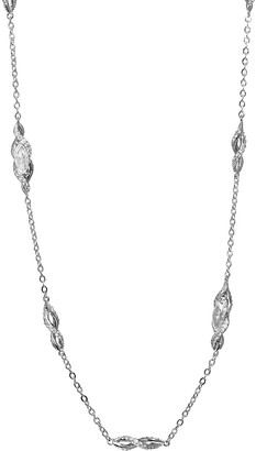 Adriana Orsini Crystal Station Necklace