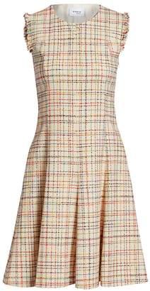 Akris Punto Sleeveless Roundneck Tweed Dress
