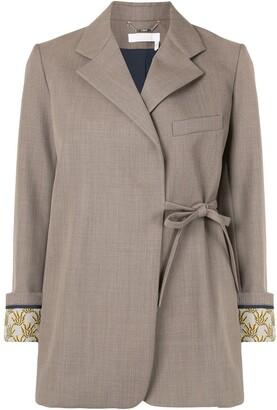 Chloé Side Tie Blazer