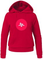 Musically Musical.ly Fan Hoodies Musically Musical.ly Fan For Ladies Womens Hoodies Sweatshirts Pullover Tops