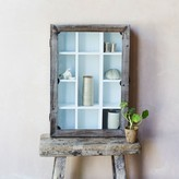 Graham and Green Wooden Display Cupboard