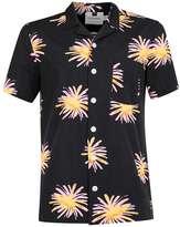 Topman Black Firework Print Short Sleeve Shirt