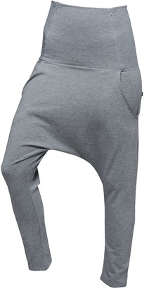Non+ Non218 Grey Baggy Pants With Two Zippers