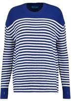 MiH Jeans Delmar Breton Striped Merino Wool Sweater