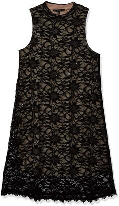 Tiana B T I A N A B. Women's Mock Neck a-line Dress