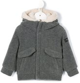 Il Gufo fleece bomber jacket