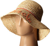 Echo Hand Embroidered Bucket Hat