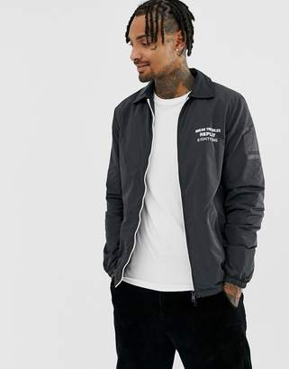 Replay lightweight coach jacket in black