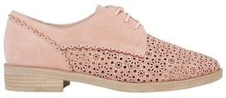 Easy Steps Nero Pale Pink Nubuck Flat Shoe Pale