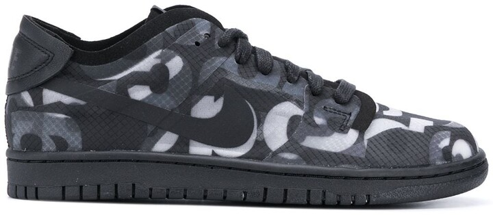 Thumbnail for your product : Nike x Comme des Garcons Dunk Monogram sneakers