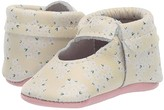 Freshly Picked Soft Sole Ballet Flat - High Tea (Infant/Toddler) (Yellow Ditzy) Girls Shoes