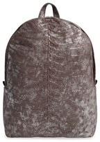 Alexander McQueen Men's Rib Cage Backpack - Metallic