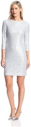 Julia Jordan Women's Sequined Sheath Dress