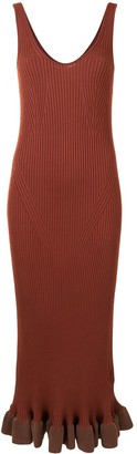 Altuzarra Marjoram ribbed-knit dress
