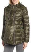 Modern Eternity Lightweight Puffer Convertible Maternity Jacket