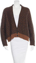 Elizabeth and James Long Sleeve Knit Cardigan