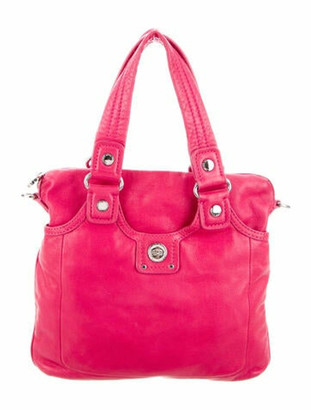 Marc by Marc Jacobs Leather Tote Bag Pink