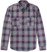 J.Crew Slim-fit Plaid Cotton-flannel Shirt