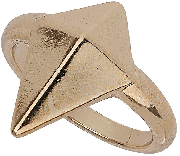 Topshop Diamond Shape Stud Ring