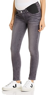 Paige Verdugo Ultra Skinny Maternity Jeans in Gray Peaks