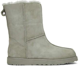 Eckhaus Latta Grey UGG Edition Block Boots