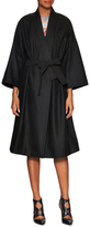 Marc by Marc Jacobs Crossover Wool Belted Kimono Coat