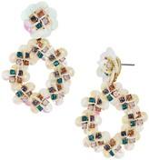BaubleBar Peony Drop Earrings