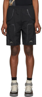 A-Cold-Wall* Black Welded Corbusier Track Shorts