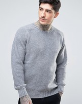 YMC Moss Knitted Crew Neck Sweater