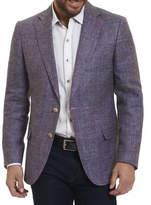 Robert Graham Mélange Two-Button Blazer