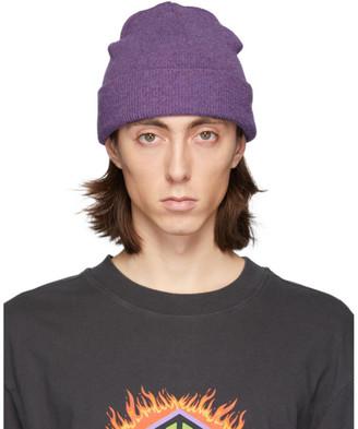 Han Kjobenhavn Purple Logo Beanie