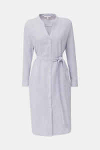 Esprit Blended Linen Dress with Belt - 34