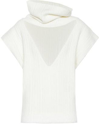 Jacquemus La Maille Aube cotton-blend sweater