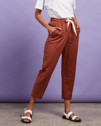 Nude Lucy Nude Classic Linen Pants