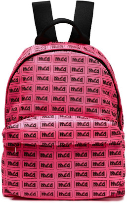 McQ Printed Shell Backpack